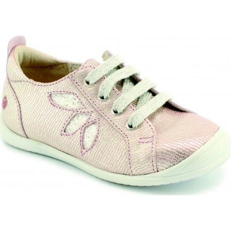 Chaussures à lacets GBB blanches fille ZjajAo5