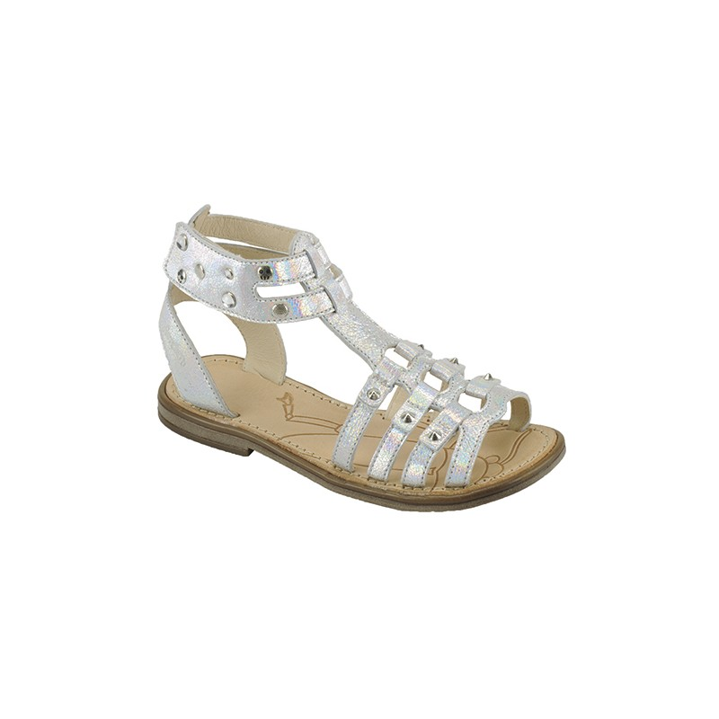 Chaussures argentées fille Z1oPLa5mgI