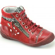 Bottines fille pas cher Catimini Cyndie rouges